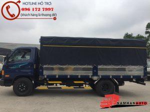 Hyundai 110S thùng Mui Bạt