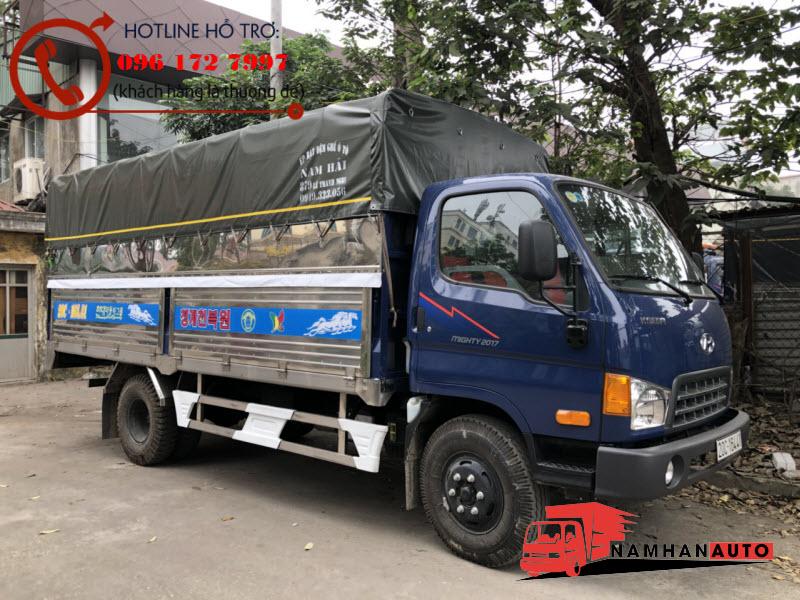 Hyundai Mighty 2017 Thùng Bạt 8 Tấn