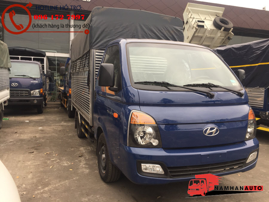 Giá Xe Hyundai H150 Thùng Bạt