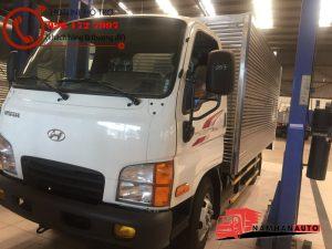 xe chở hải sản 2.5 tấn hyundai