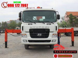 hyundai hd320 gắn cẩu