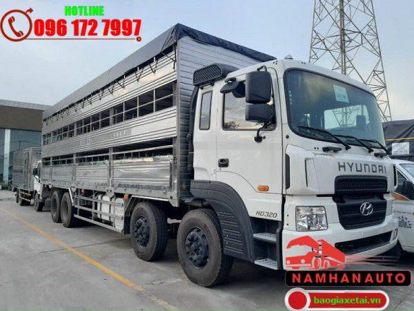 hyundai hd320 chở lợn